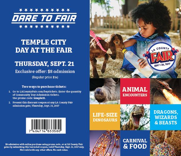 TC Day at the Fair Online Insert